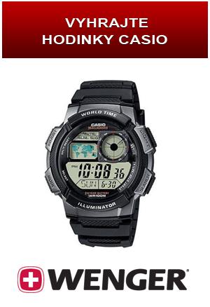 c0202e74050 Pošlete nám na Facebook profil Hodinky Wenger fotku svých Wenger hodinek.  Ta s největším počtem liků vyhraje hodinky CASIO Collection AE-1000W-1BVEF  v ...